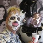 Mike at Chick-Fil-A on Cow Appreciation Day