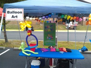 Balloon Twister at a Festival